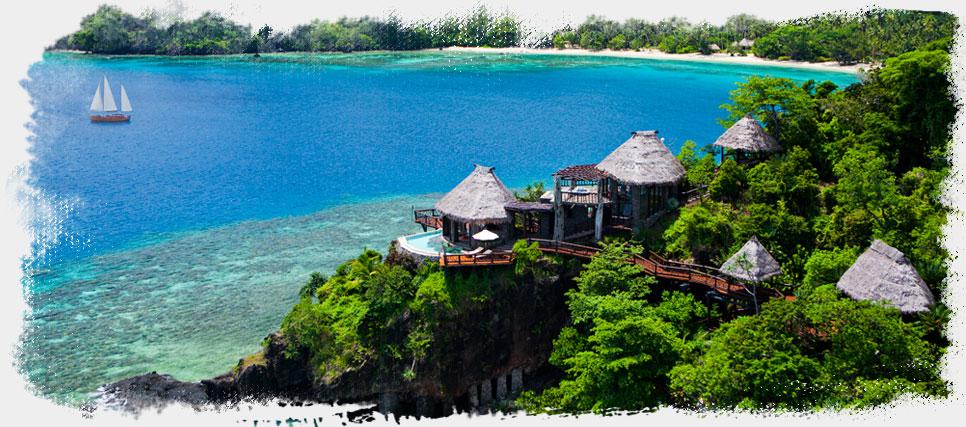 Laucala Island Resort,你的岛屿,你的私人飞机,你的别墅