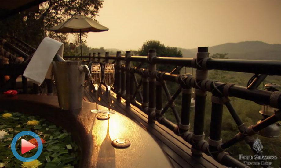 泰国金三角华篷四季度假村视频