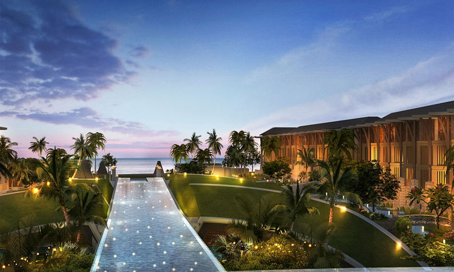 巴厘岛索菲特努沙杜瓦海滩度假村的餐厅供应这各色的地方美食,让客