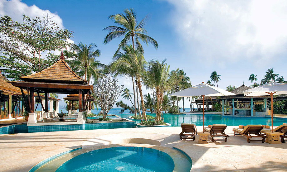 泰国苏梅岛anantara bophut resort波普安纳塔拉水疗度假村 4晚6日